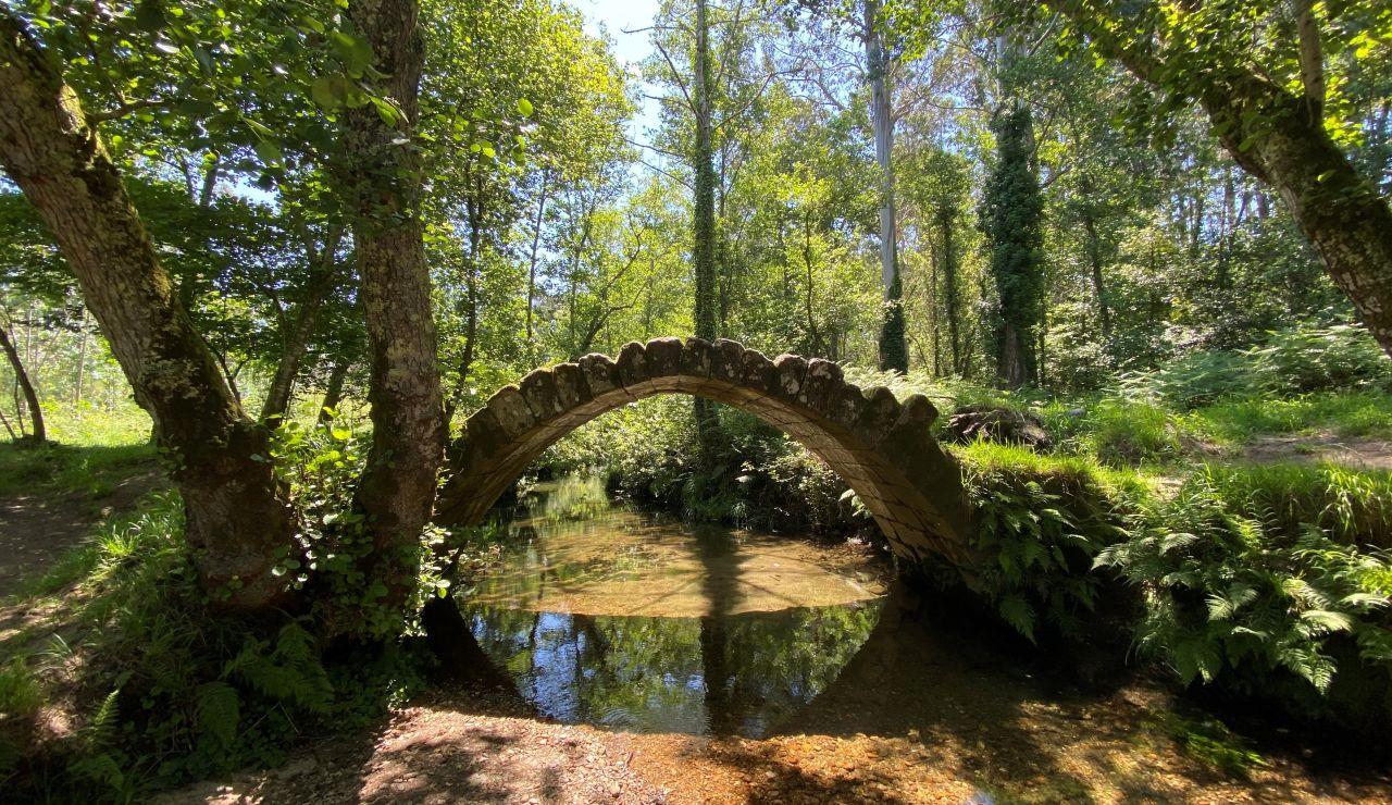 Puente sobre el río Sieira