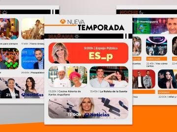 Así es la nueva temporada de otoño de Antena 3