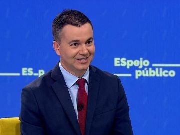 Héctor Gómez, portavoz del PSOE.