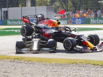 Fernando Alonso opina sobre el histórico accidente de Hamilton y Verstappen en el GP de Italia