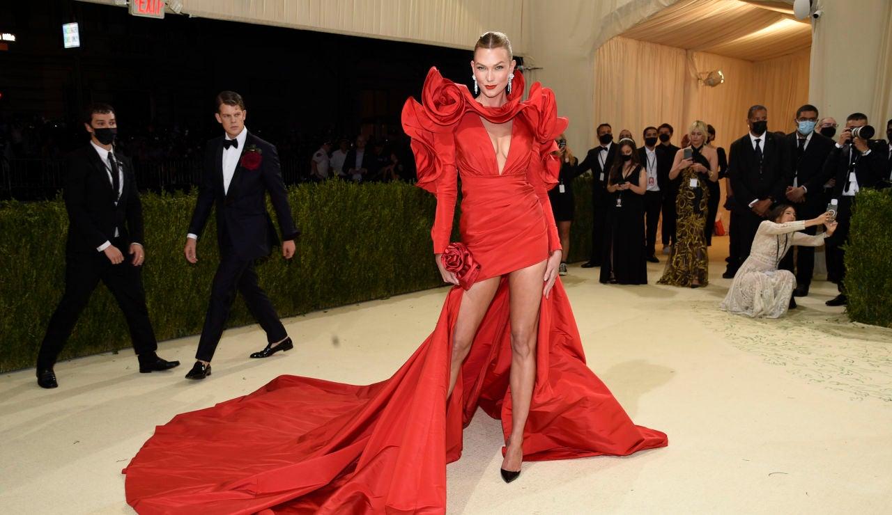 La impresionante alfombra roja de la Gala MET 2021