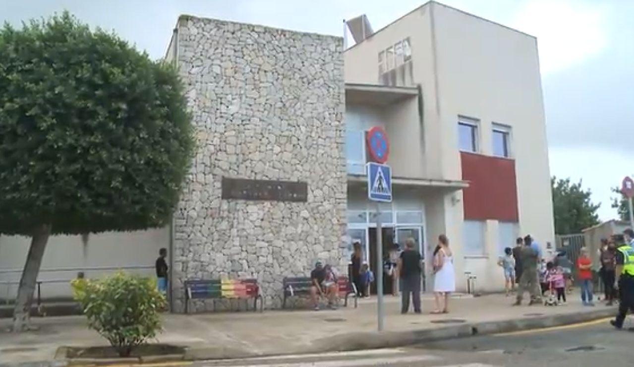 Prohíben a dos alumnos entrar al colegio sin mascarilla en Mallorca
