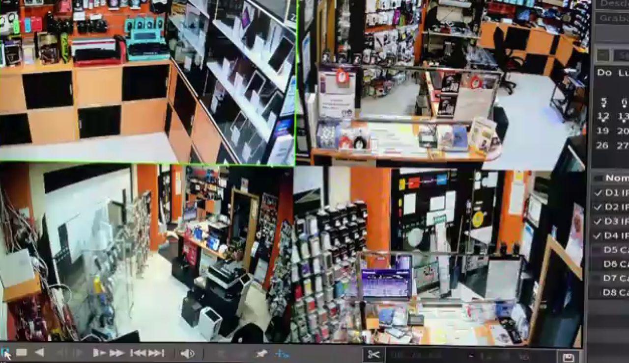 En cuestión de segundos roban material informático por valor de 15.000 euros en Pontevedra
