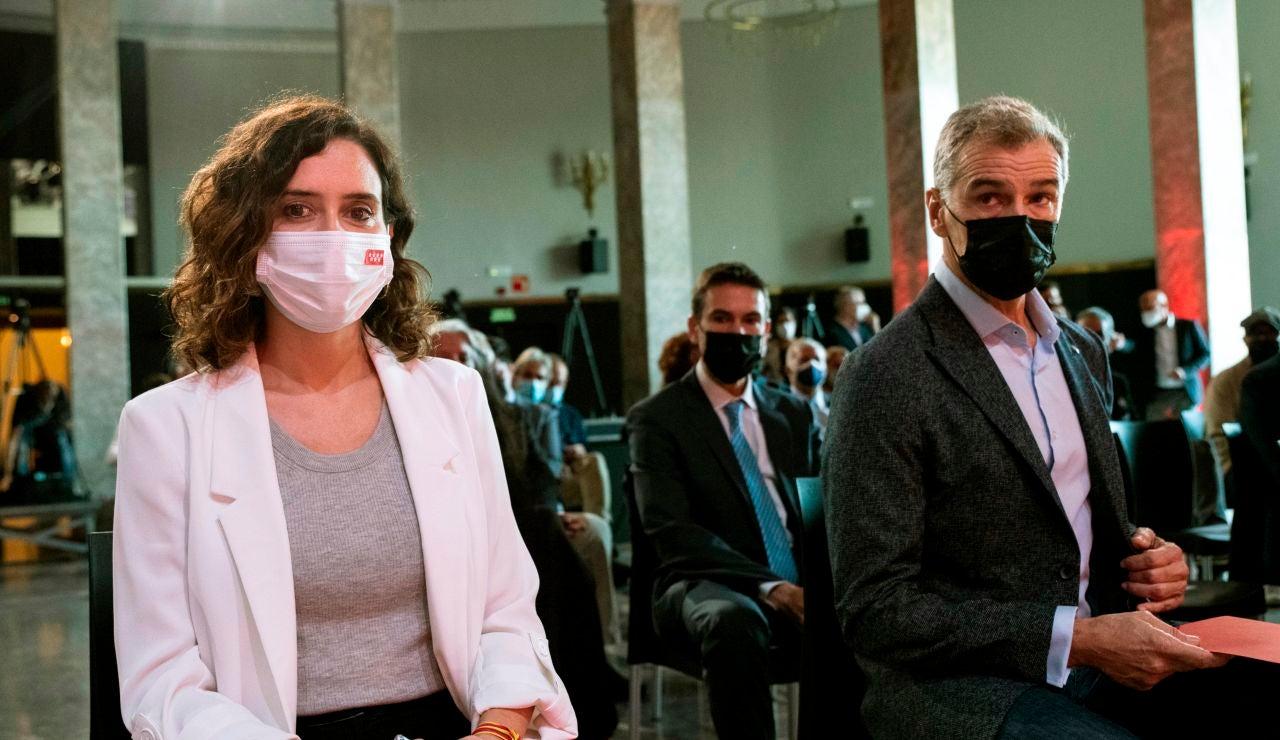 Isabel Díaz Ayuso y Toni Cantó