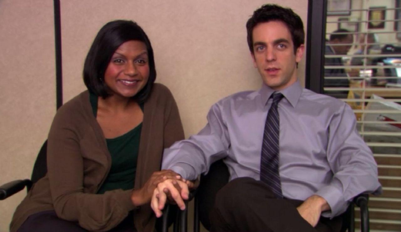 BJ Novak Y Mindy Kaling en 'The Office'