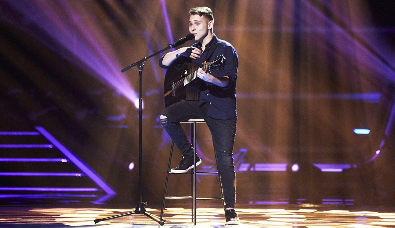 Javier Naranjo, talent de La Voz 2021