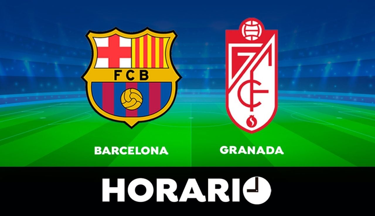 Barcelona - Granada: Horario y dónde ver el partido de la Liga Santander en directo