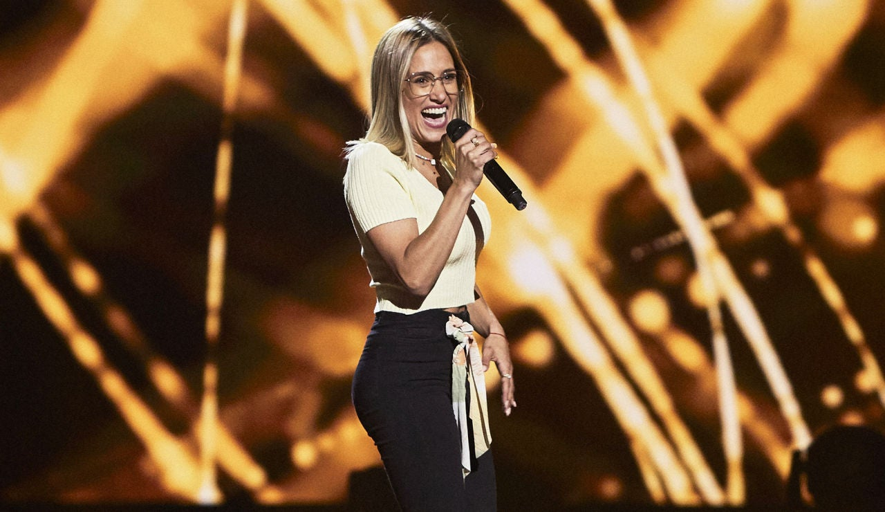 Marta Macías canta 'Aún no te has ido' en las Audiciones a ciegas de 'La Voz'