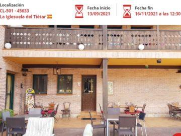Un hotel rural de La Iglesuela del Tiétar, en Toledo, a subasta por 1 euro