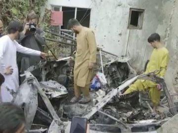 Estados Unidos ataque Afganistán