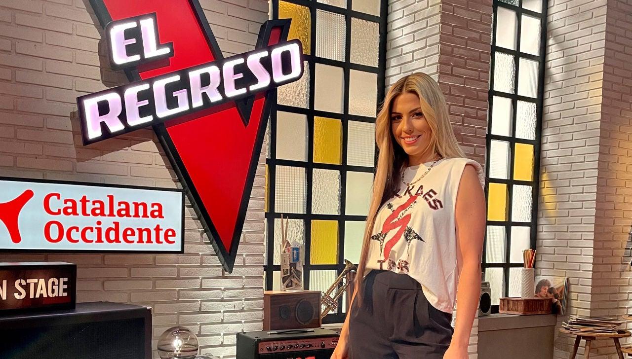 Miriam Rodríguez en El Regreso