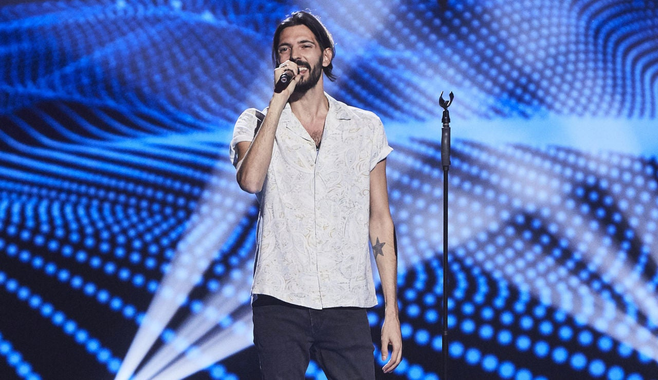 Álex García-Obregón canta 'Wicked game' en las Audiciones a ciegas de 'La Voz'