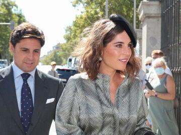 Lourdes Montes y Francisco Rivera, los invitados más elegantes de la boda de Rocío Gil