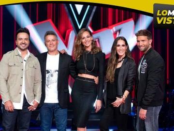 'La Voz' vuelve como lo más visto de la noche y líder absoluto con 2.219.000 espectadores y 20,6% de cuota en su estreno