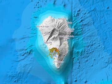 La Palma registra 45 terremotos, uno de 3,2 sentido en cuatro municipios