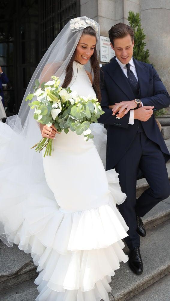 Rocío Gil en su boda