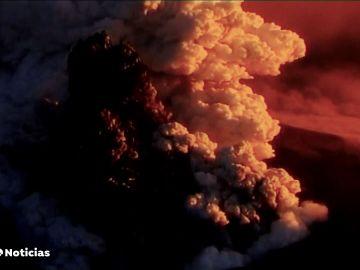 El volcán de La Palma se suma a la veintena de volcanes activos en el mundo tras entrar en erupción