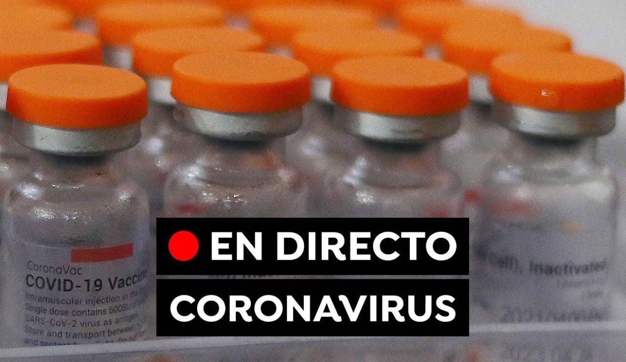 Coronavirus España: Vacuna contra el COVID-19, nuevas variantes y contagios, en directo