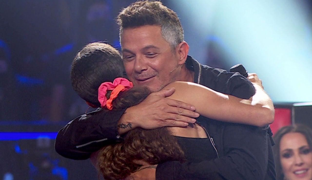 Alejandro Sanz se reencuentra con alguien muy especial