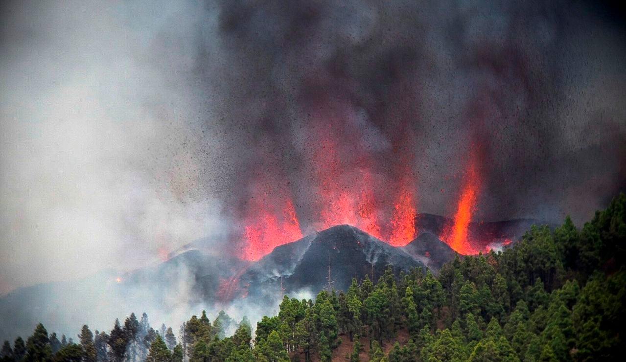Cuanto tiempo puede durar una erupción como la del volcán
