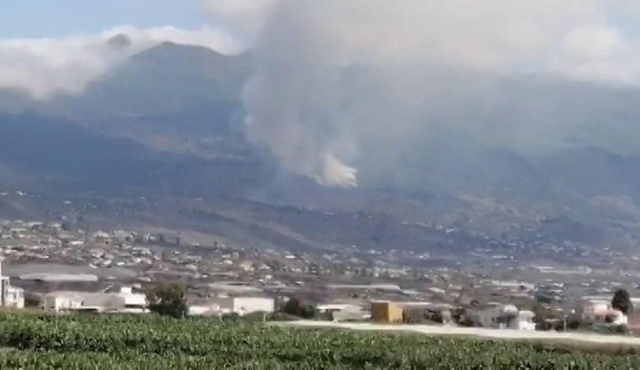 Los vídeos del volcán en erupción en la Cumbre Vieja en La Palma