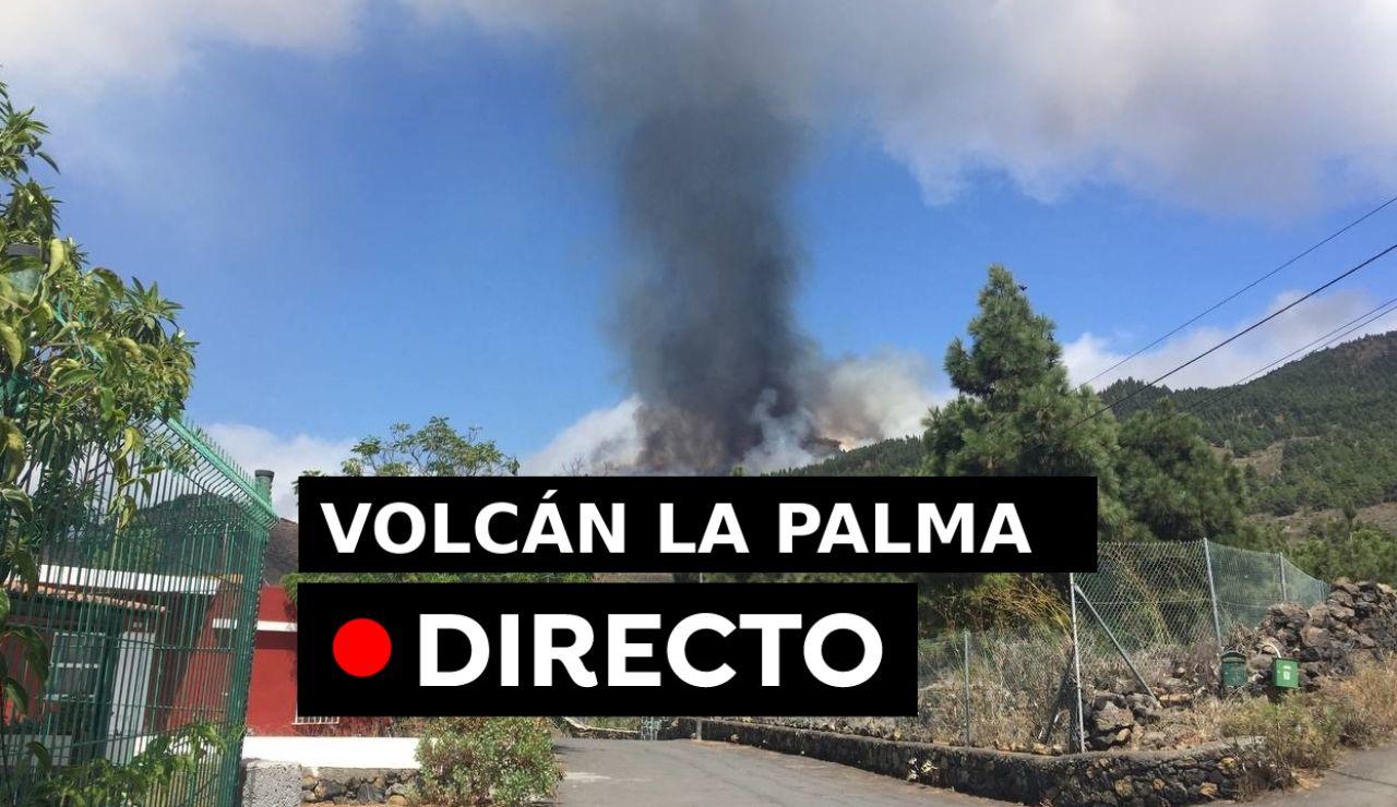 Volcán La Palma: Erupción volcánica en Cumbre Vieja, en directo