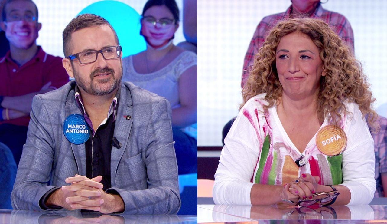 ¡Cumplen sus bodas de oro! Marco Antonio y Sofía revelan qué tal se llevan tras 50 programas juntos en 'Pasapalabra'