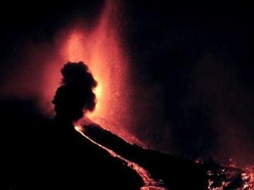 Volcán en La Palma.