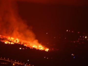 Erupción del volcán de La Palma en directo