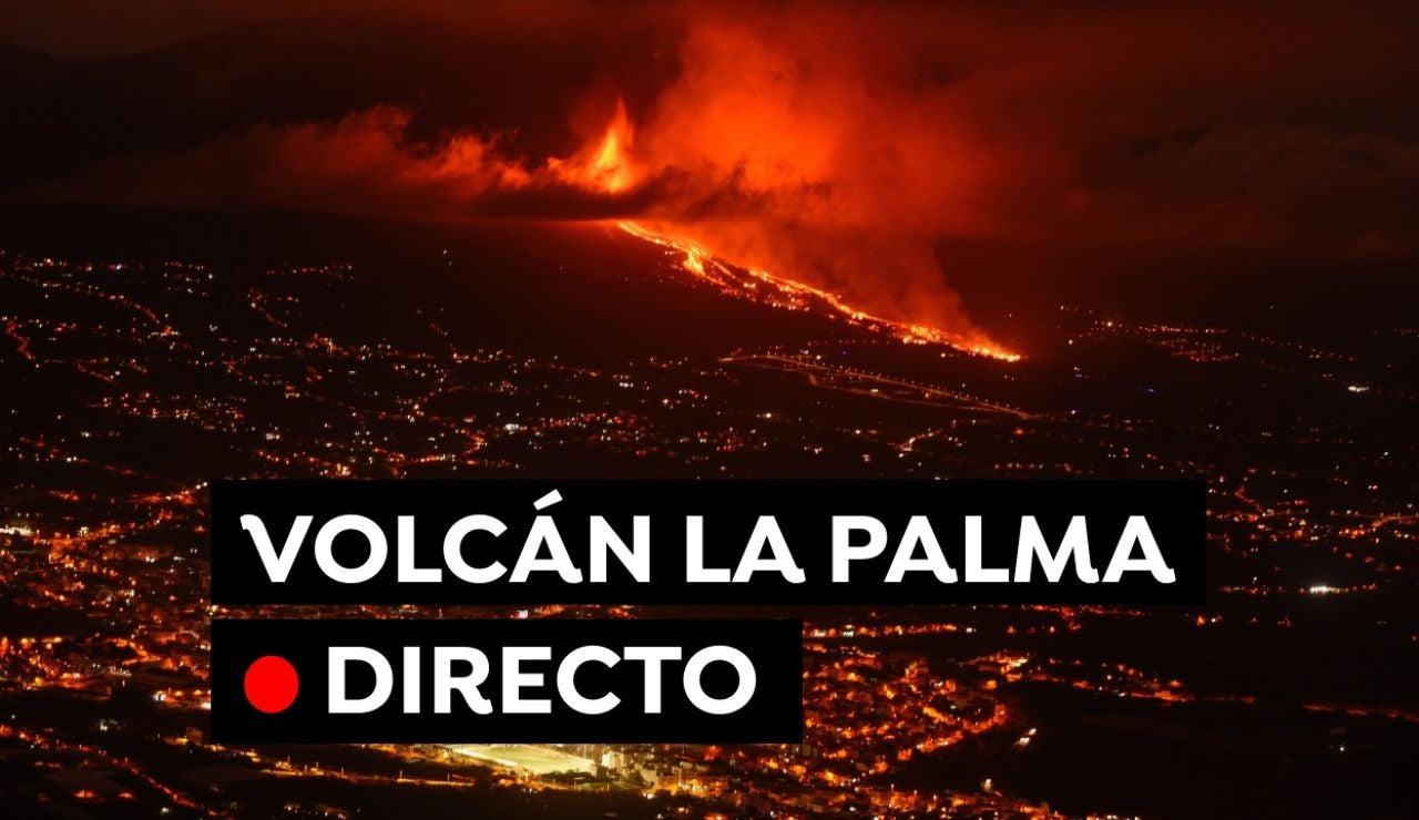 Volcán La Palma: Última hora de la erupción de hoy en Cumbre Vieja, en directo