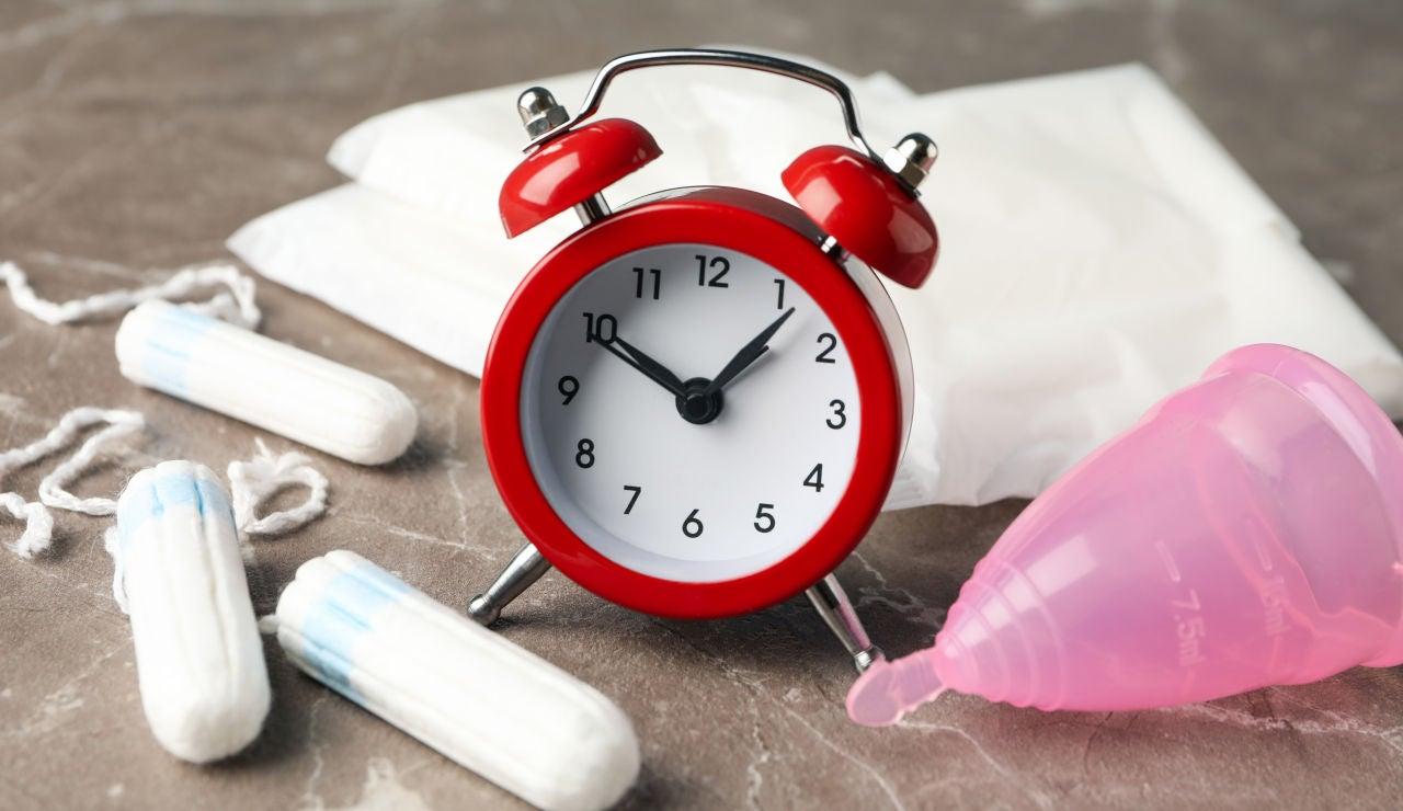 Productos de higiene femenina para el período