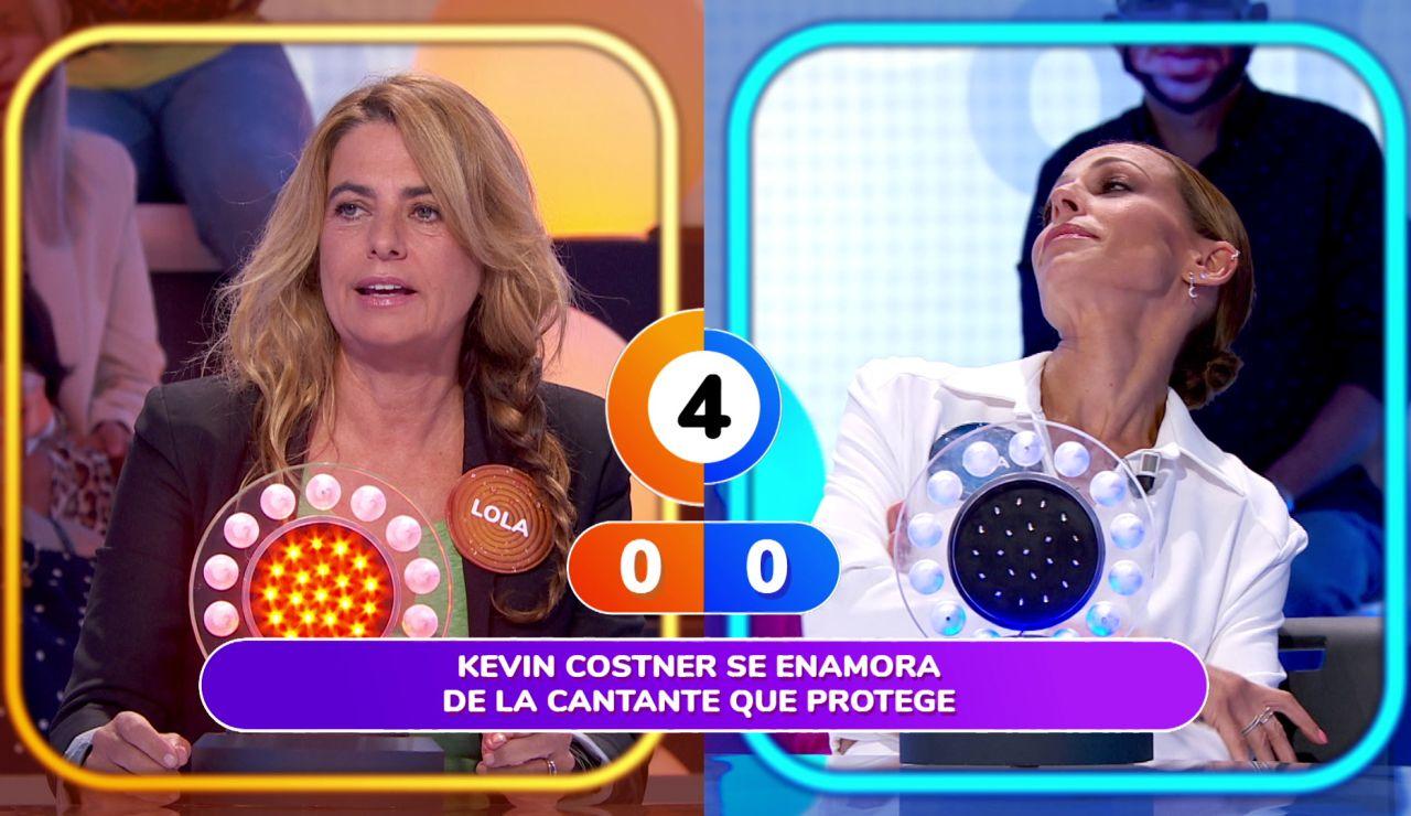 """Roberto Leal 'regaña' a Eva González por su treta en 'La Pista': """"Siempre me haces lo mismo"""""""