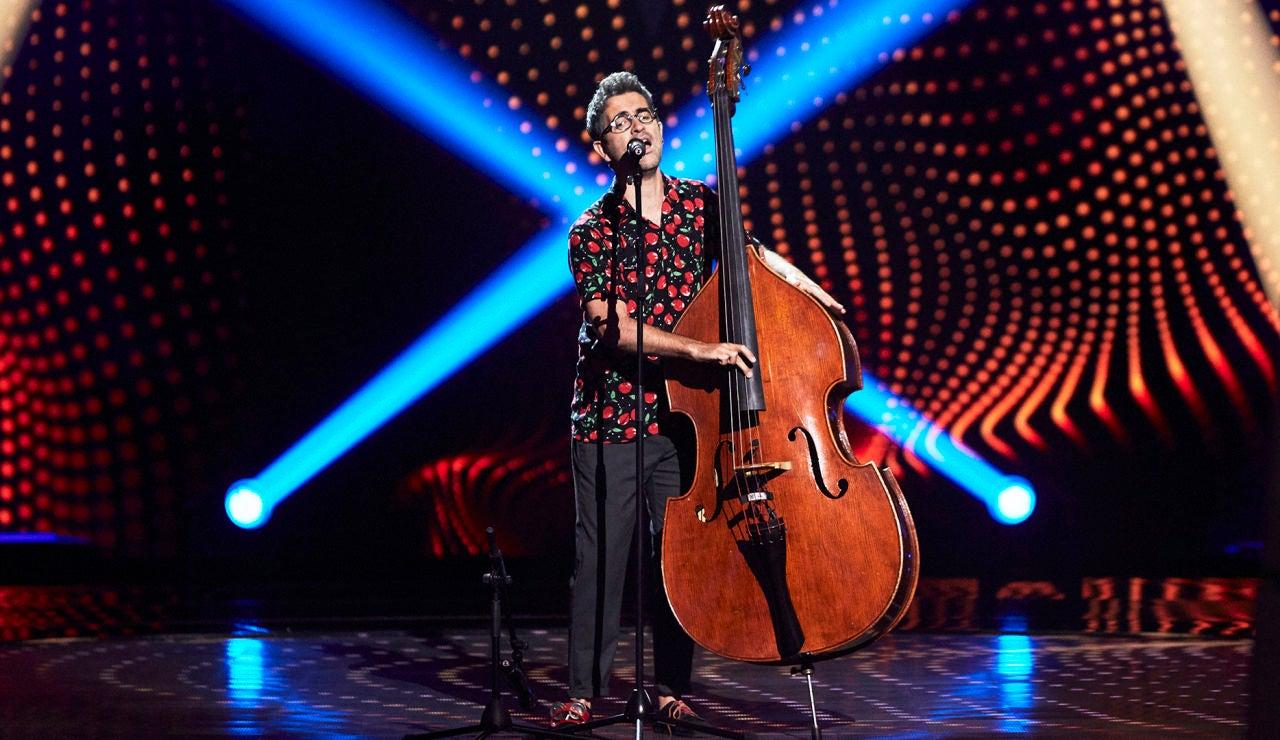 Jorge da Rocha canta 'Sweet Dreams, Hit the Road Jack y Seven Nation Army' en las Audiciones a ciegas de 'La Voz'