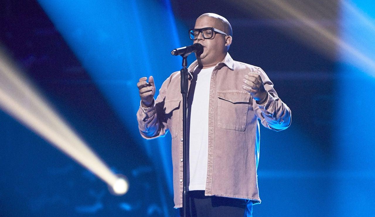 Besay Pérez canta 'O sole mío' en las Audiciones a ciegas de 'La Voz'