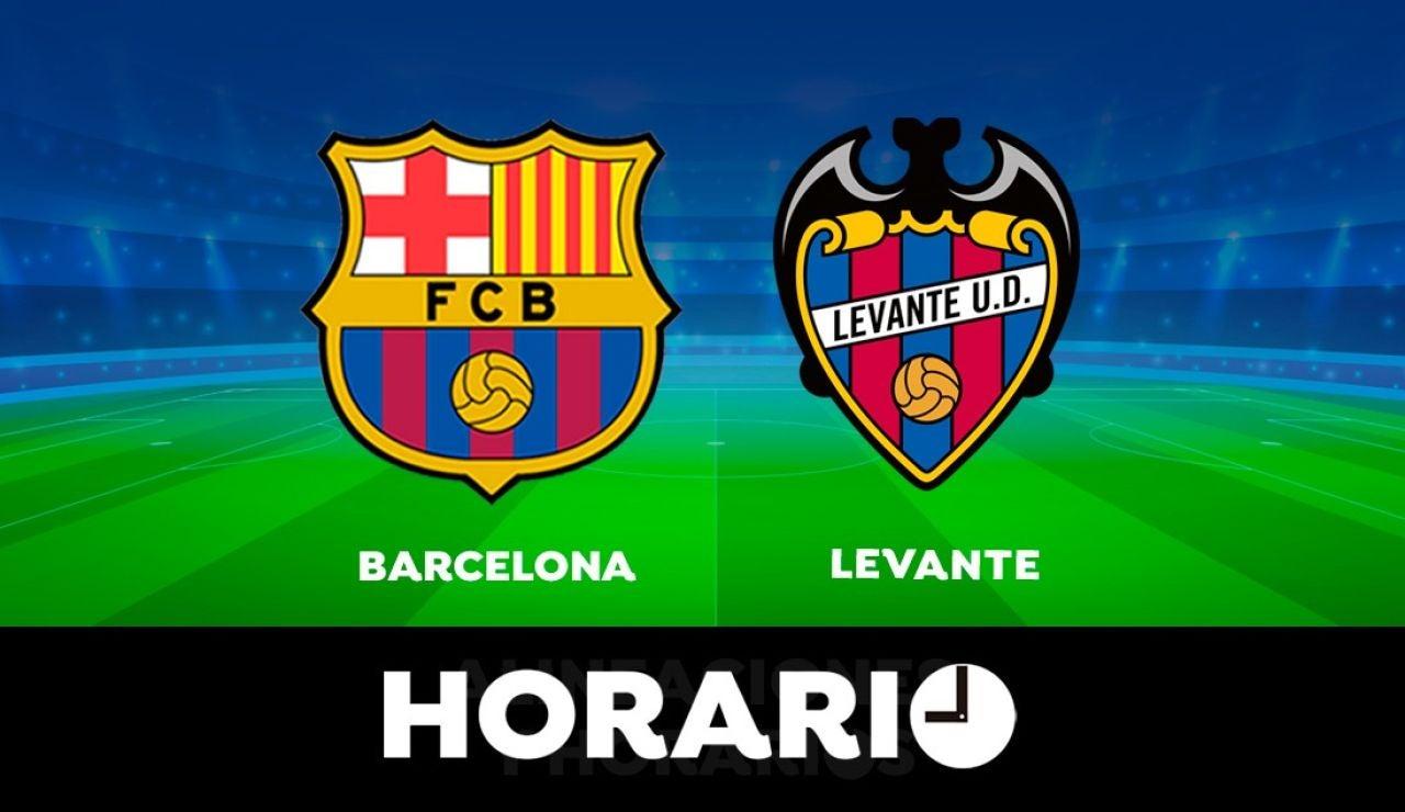Barcelona - Levante: Horario y dónde ver el partido de la Liga Santander en directo