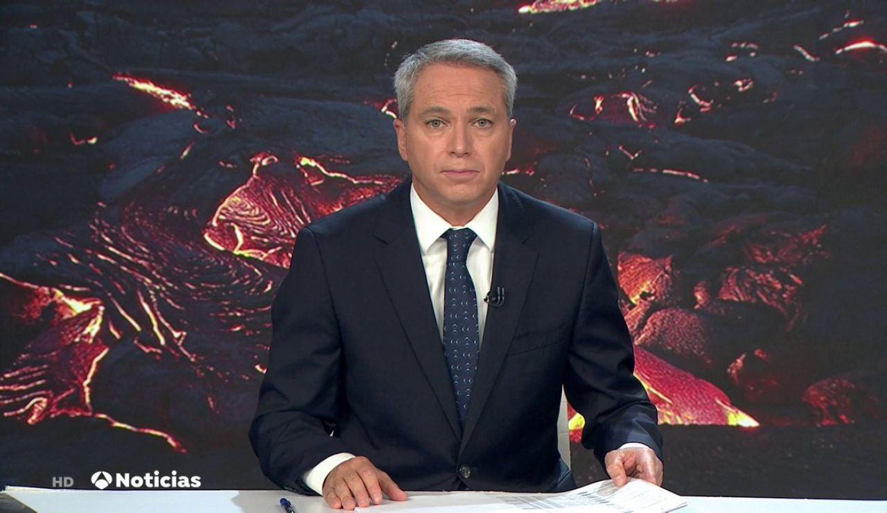 Antena 3 Noticias 2, líder con 3.182.000 espectadores y un 23,3% de cuota