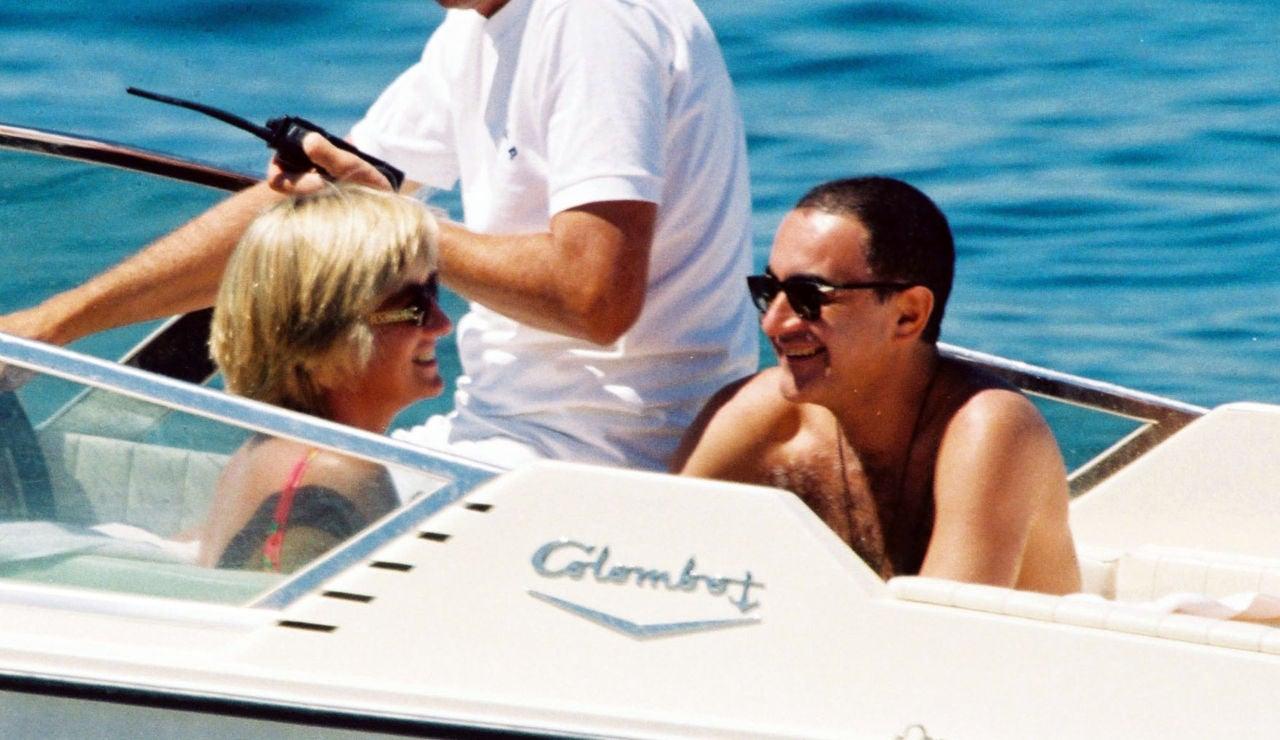 Lady Di y Dodi Al Fayed