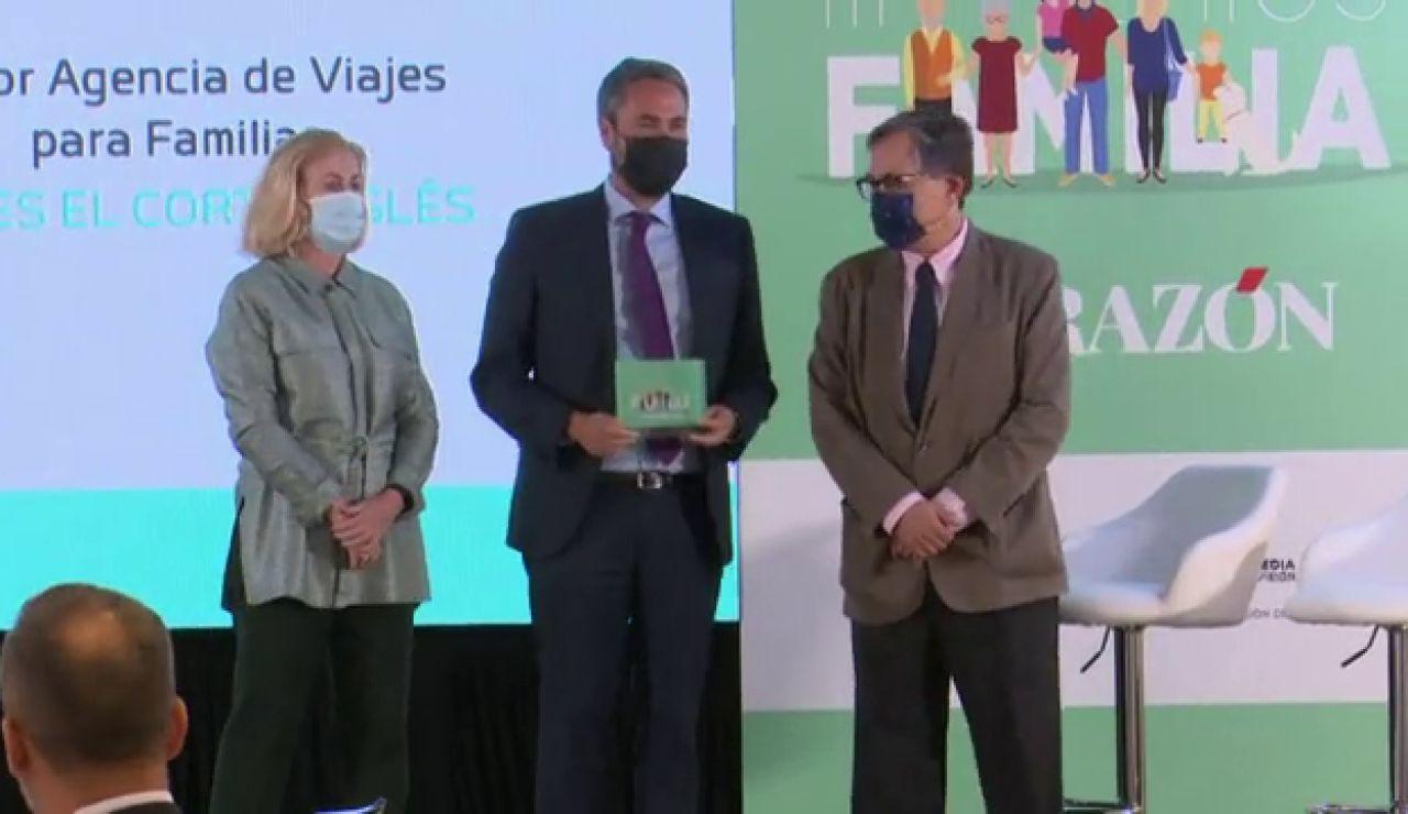 El diario La Razón celebra los Premios Familia