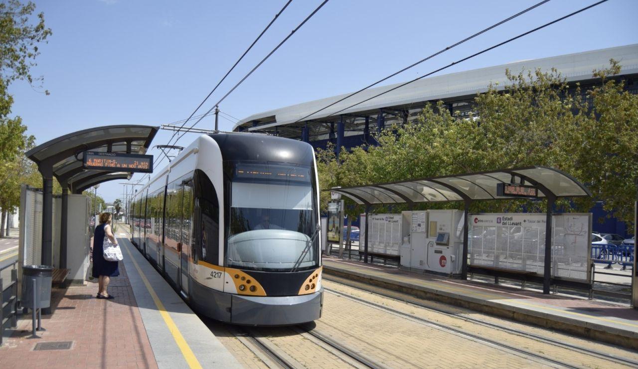 Un convoy de Metrovalencia en una imagen de archivo