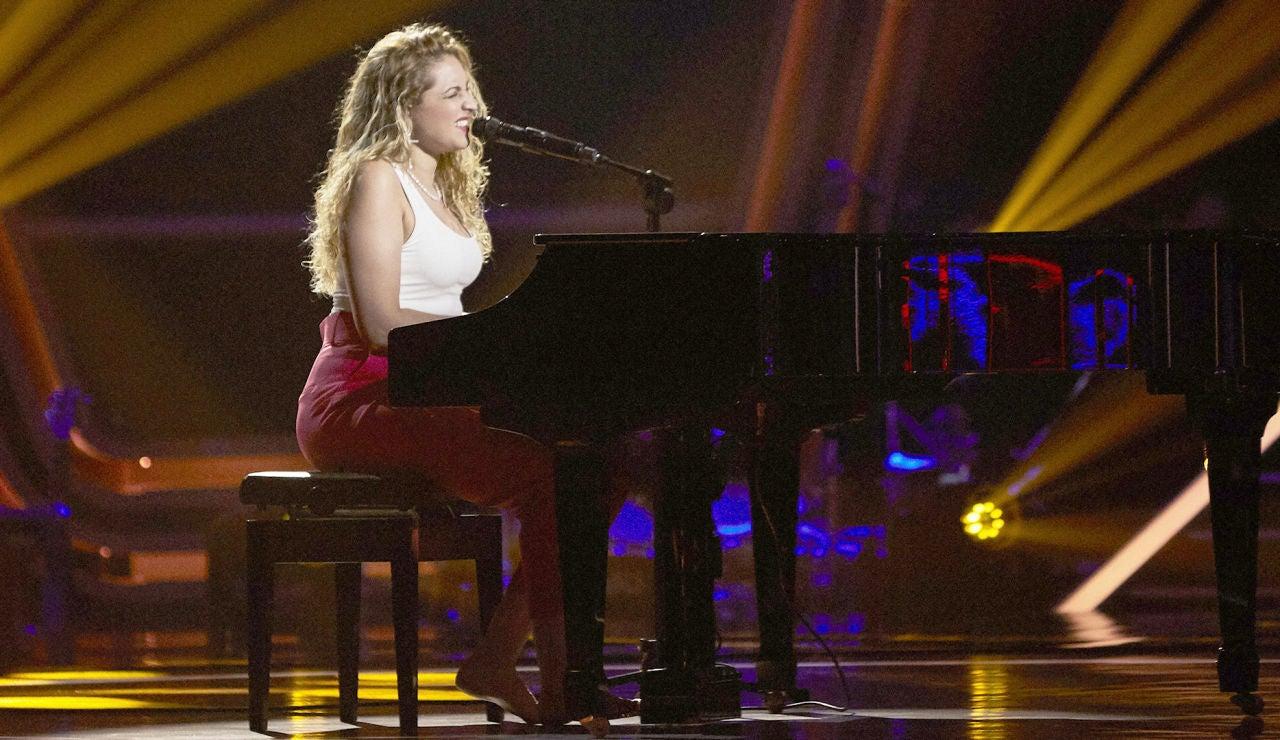 Mara Cruz canta 'No tengo nada' en las Audiciones a ciegas de 'La Voz'