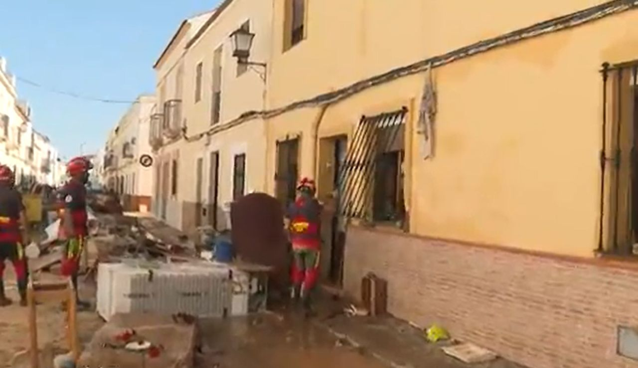 La DANA deja destrozos en Lepe y en la provincia de Ávila