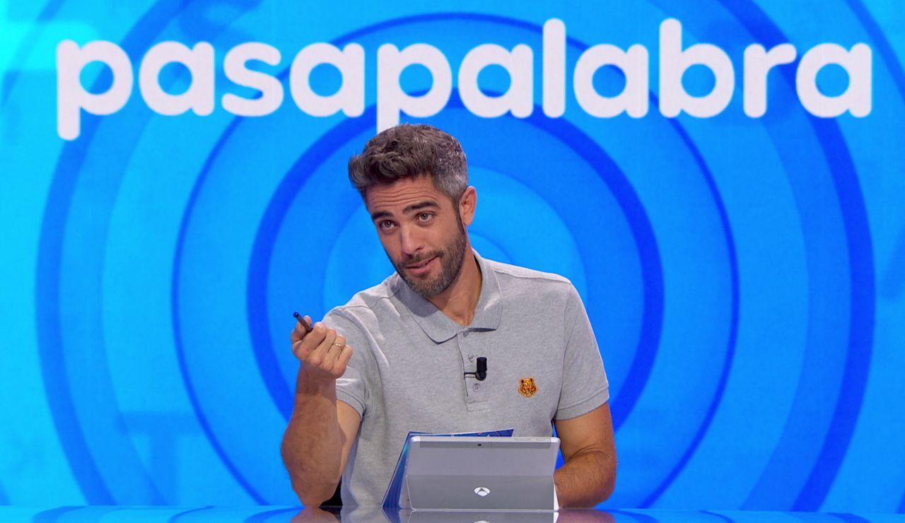 Roberto Leal aclara por qué no da por buena una respuesta de Agustín Jiménez en la 'Sopa de letras'