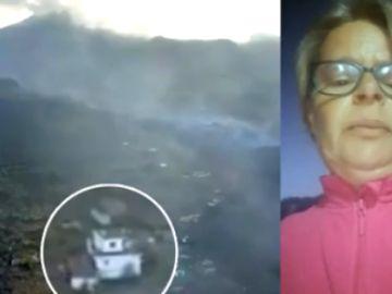 Elba Jiménez, vecina de La Palma, afectada por la erupción del volcán
