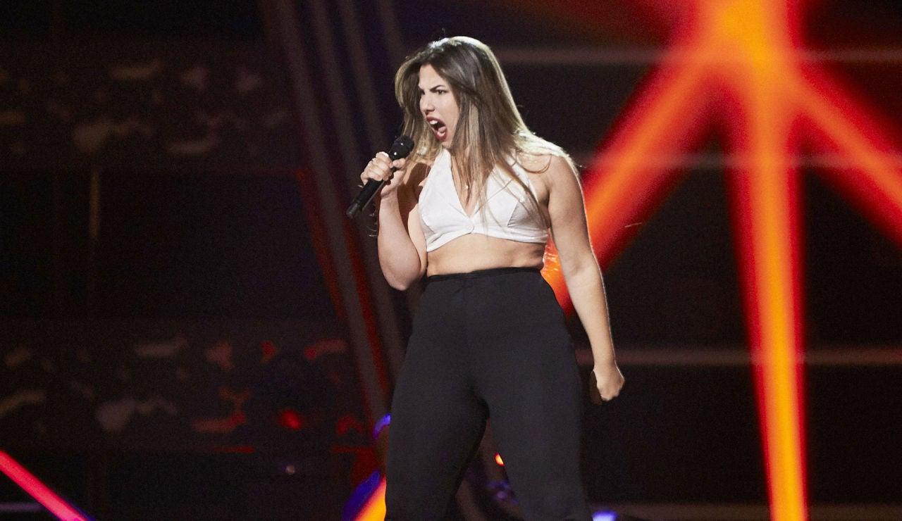 Irene Romero canta 'I see red' en las Audiciones a ciegas de 'La Voz'