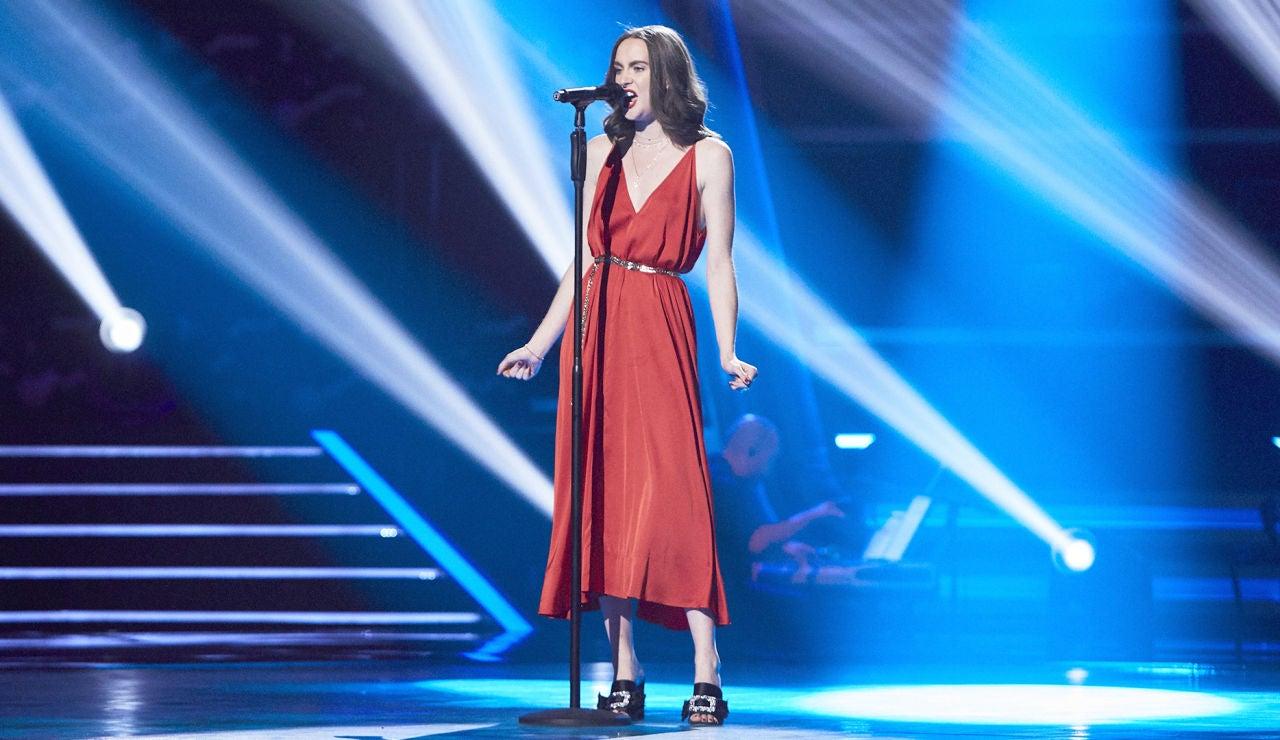 Leire Medina canta 'They just keep moving the line' en las Audiciones a ciegas de 'La Voz'