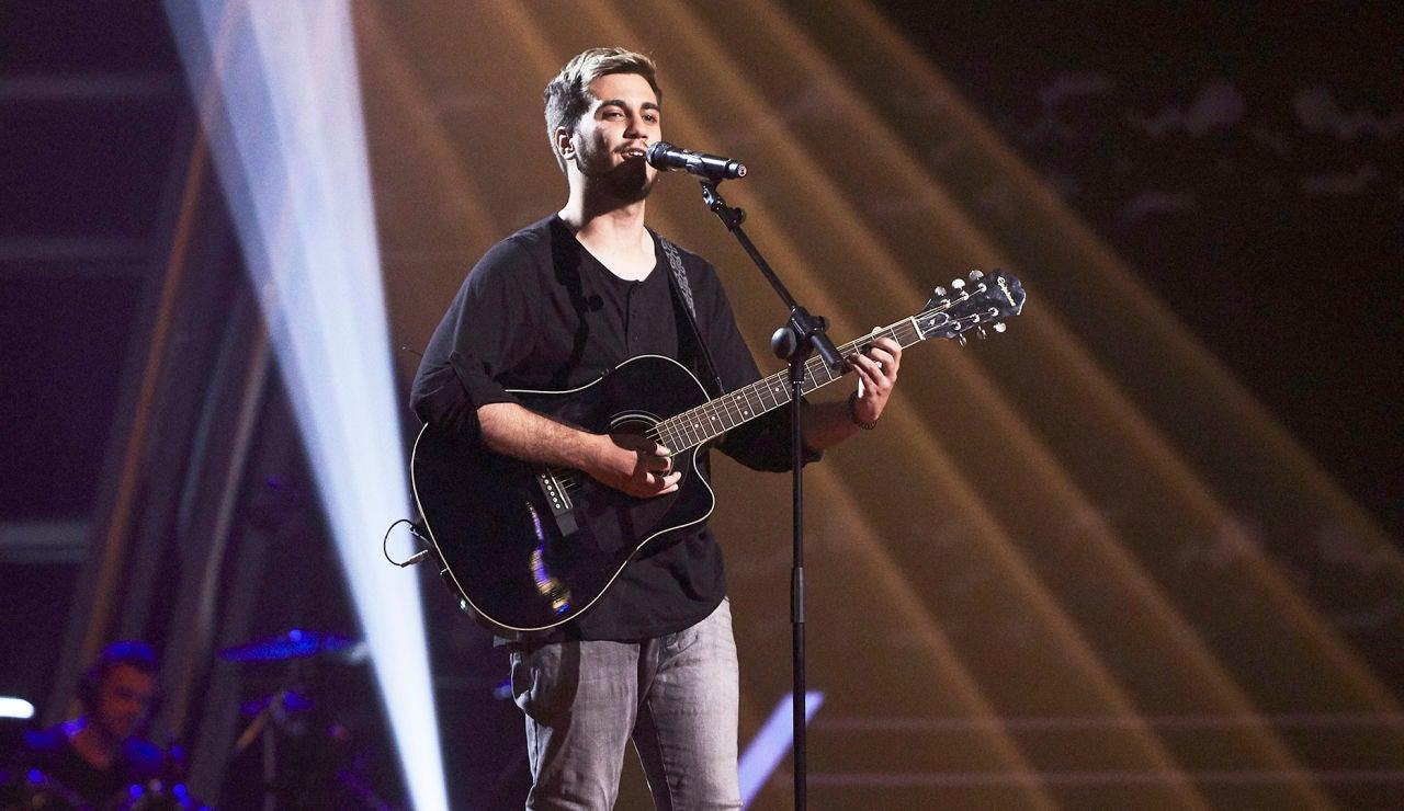 Christian Ruiz canta 'Tennessee Whiskey' en las Audiciones a ciegas de 'La Voz'