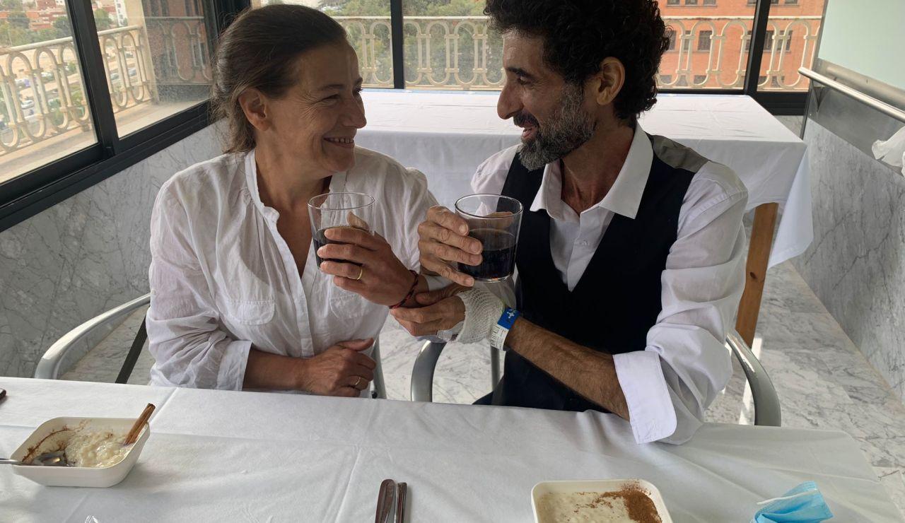 Un paciente ingresado se casa en el Hospital Vall d'Hebron de Barcelona