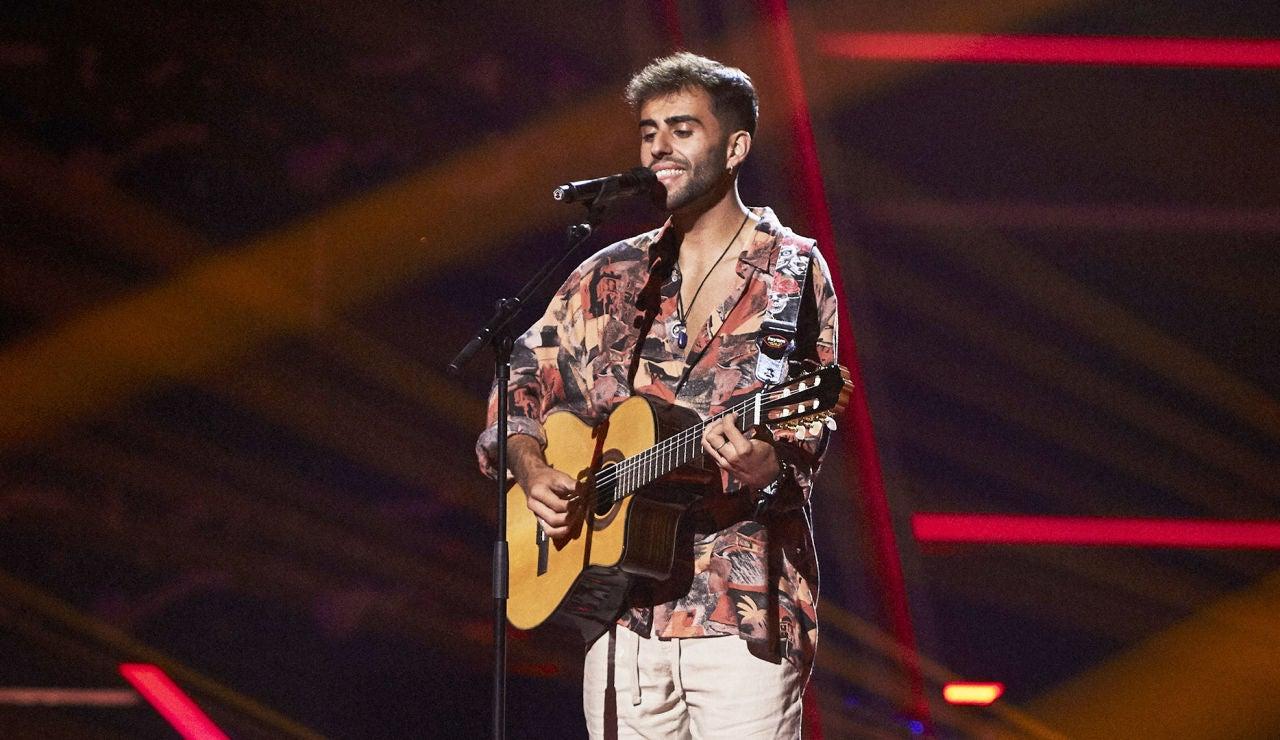 Álex Sánchez canta 'Tú me dejaste de querer' en las Audiciones a ciegas de 'La Voz'