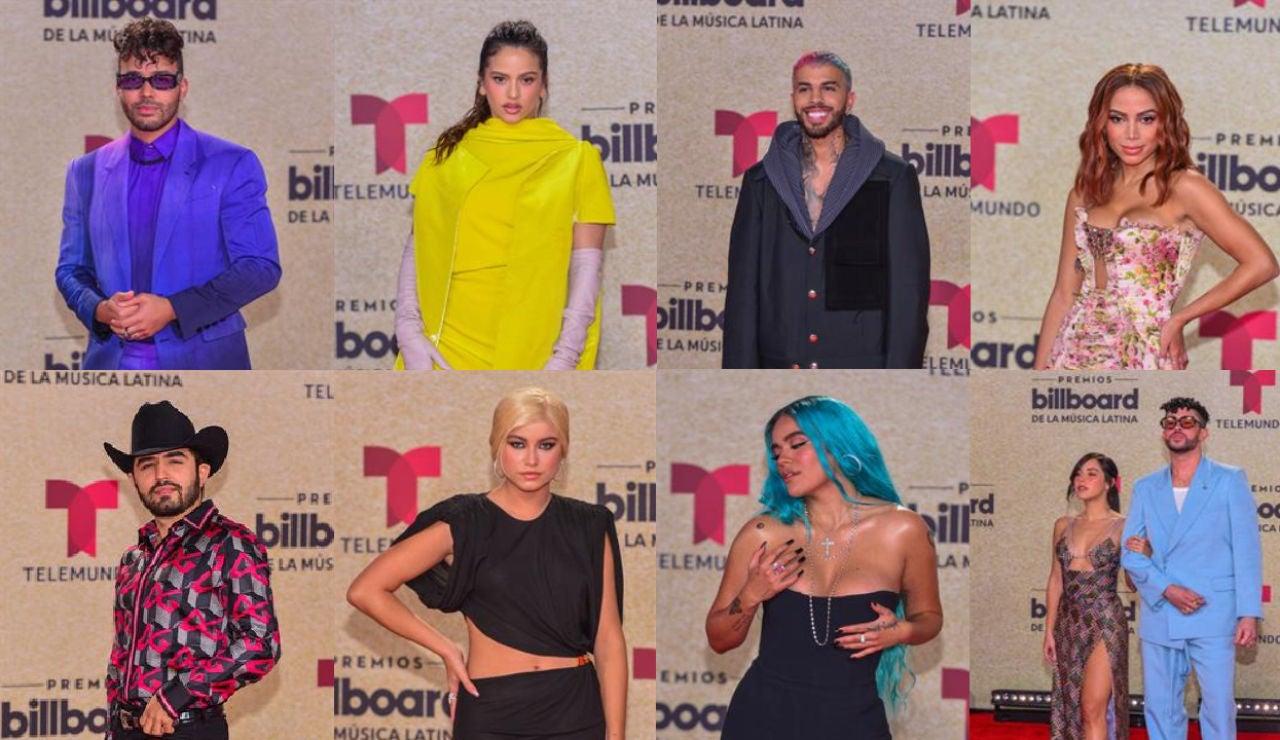 Estos son los artistas mejor vestidos en los premios Billboard 2021