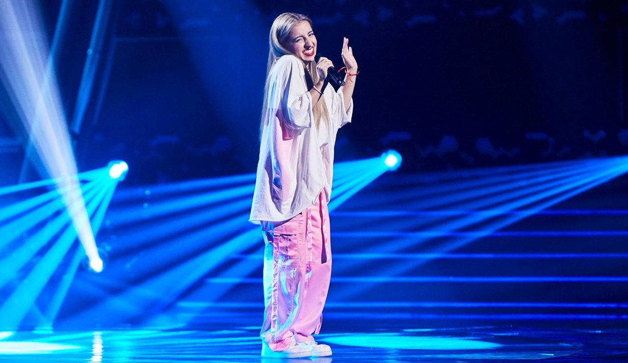 Lamis Carro canta 'All of me' en las Audiciones a ciegas de 'La Voz'